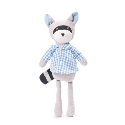 Hazel Village Max Racoon in Gingham Shirt