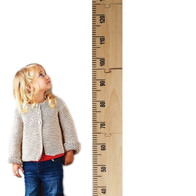 Wooden Height Chart - 2M height | Dapper Mr Bear