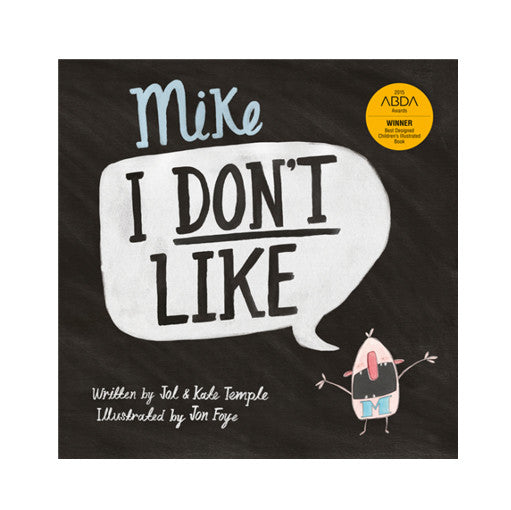 Mike I Don't Like Book | Dapper Mr Bear