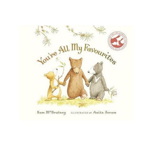 You're All My Favourites Book | Dapper Mr Bear