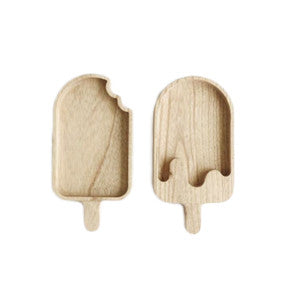 Popsicle Eco Wood Divide Plate (3 options)