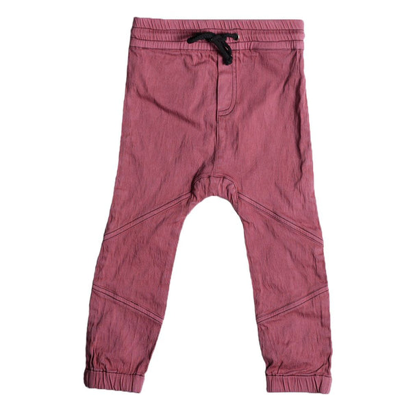 Anarkid Maroon Denim Joggers (3-6M and 12-18M last ones!)
