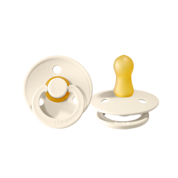 BIBS Pacifier - Ivory 2 Pack - Size Two - Dapper Mr Bear - www.dappermrbear.com - NZ