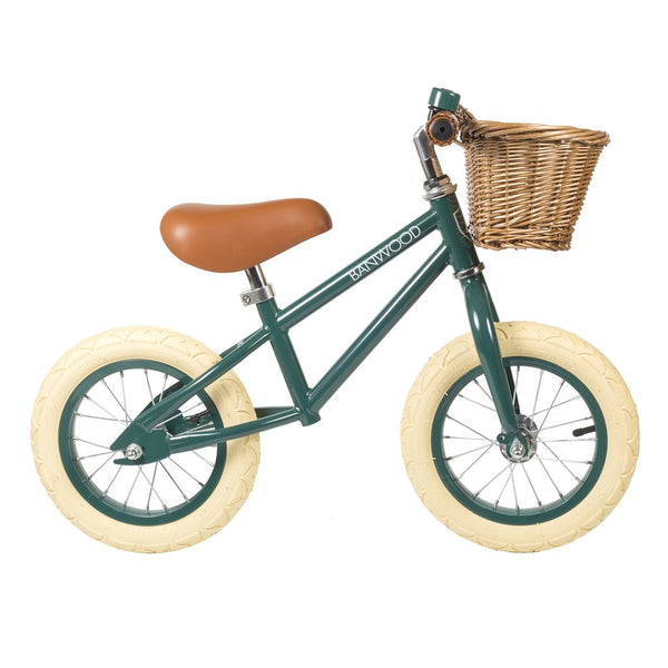 Banwood First Go Balance Bike - Dark Green - Dapper Mr Bear - www.dappermrbear.com - NZ