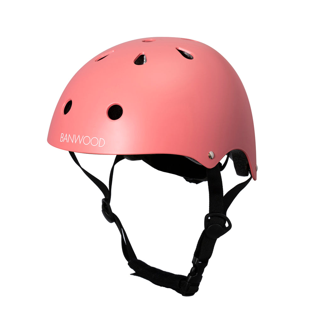 Banwood Classic Helmet - Coral - Dapper Mr Bear - www.dappermrbear.com - NZ