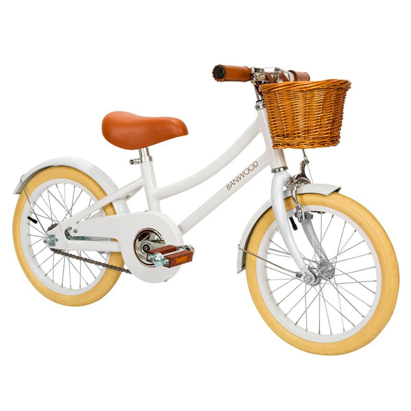 Banwood Classic Bicycle - White - Dapper Mr Bear - www.dappermrbear.com - NZ