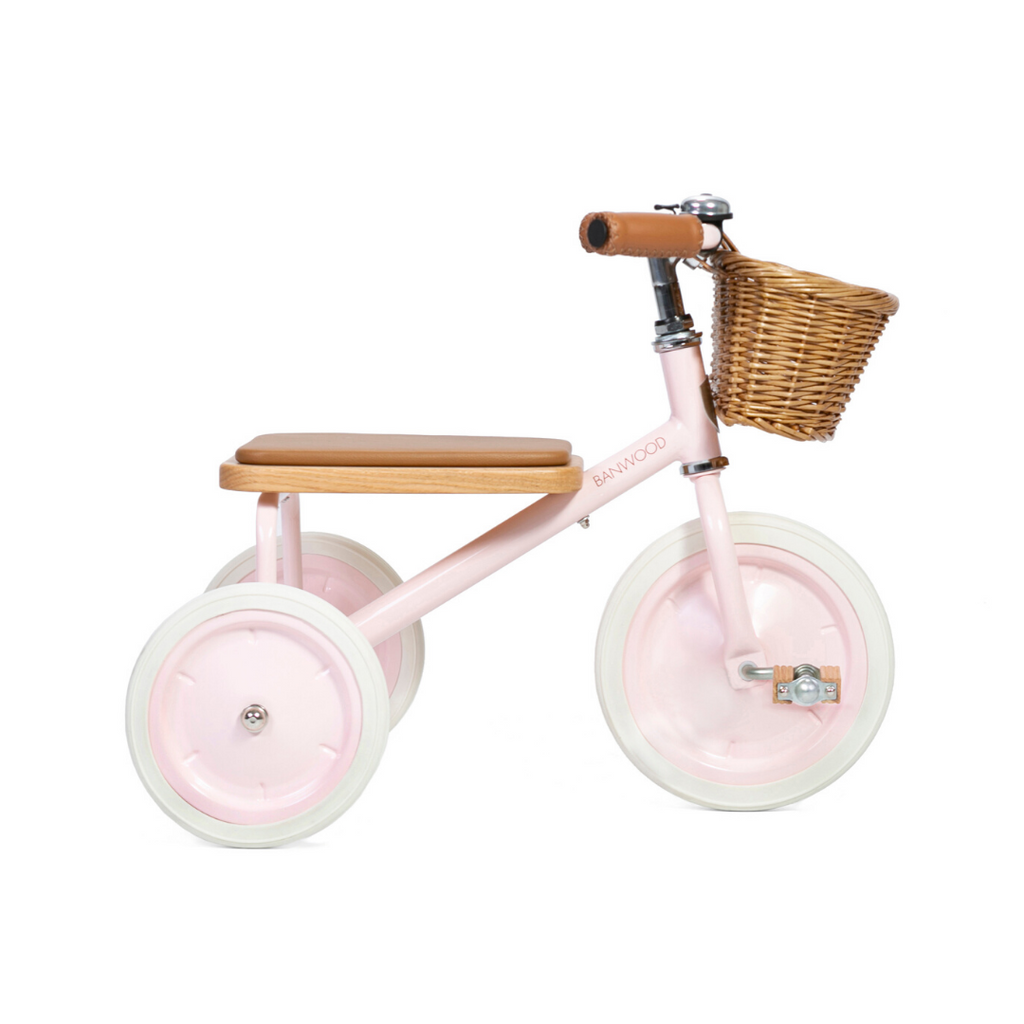 Banwood Trike - Pink - Dapper Mr Bear - www.dappermrbear.com - NZ
