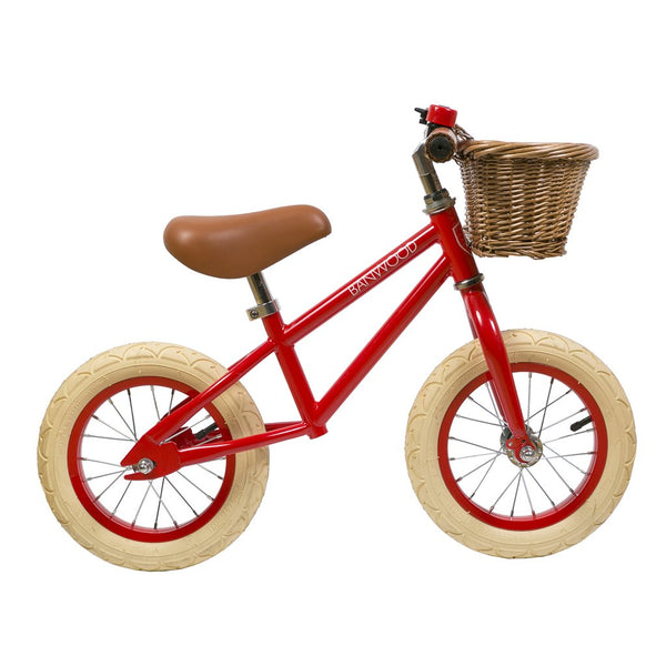 Banwood First Go Balance Bike - Red - www.dappermrbear.com - NZ - Dapper Mr Bear