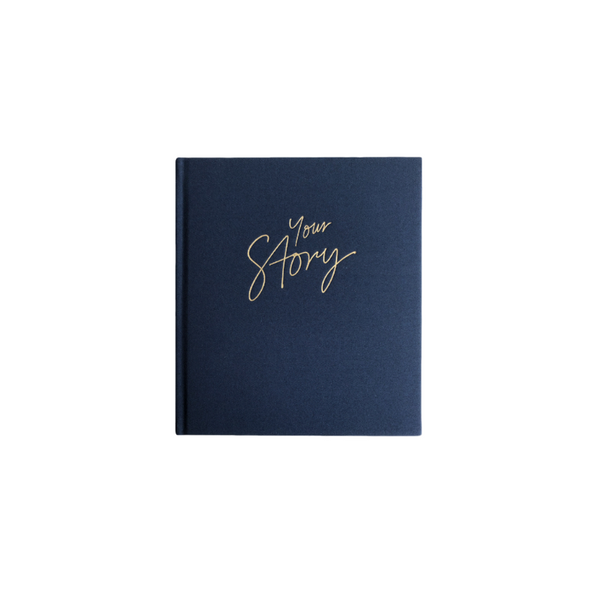 Your Story - Baby Book - Navy