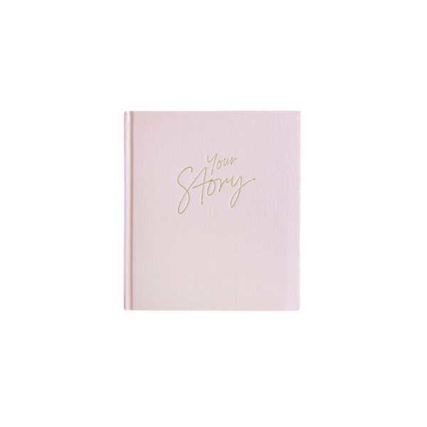 Your Story - Baby Book - Pink