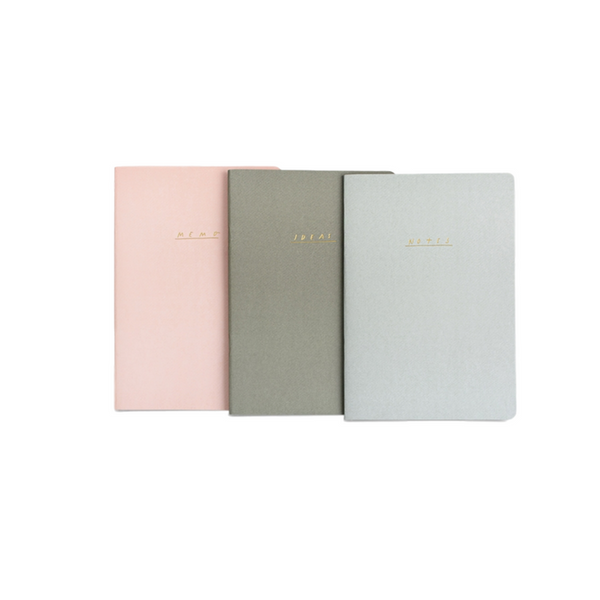 Block Colour - Notebook Set