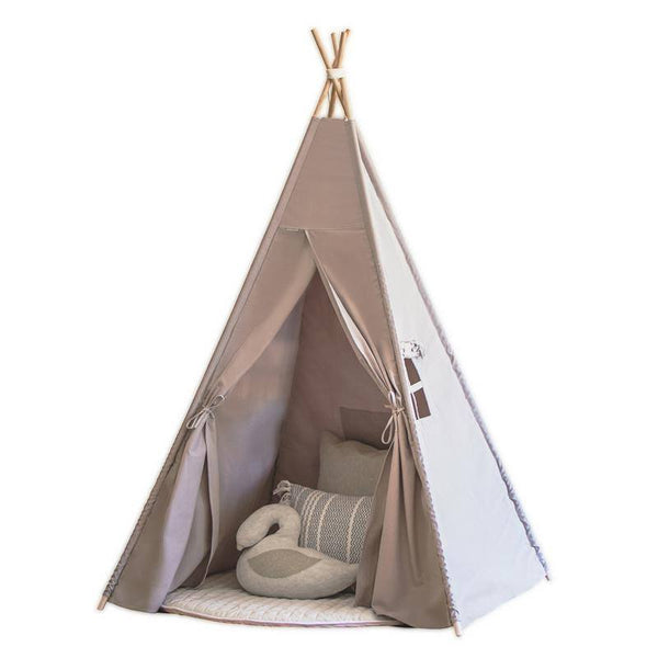 Kids Teepee - Wild Dove (Grey)
