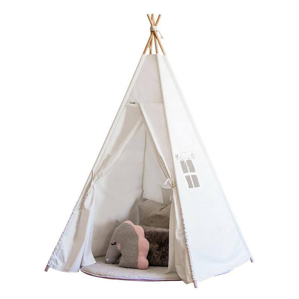 Kids Teepee - Snow Dust (White)