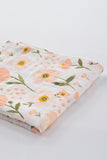 Reversible Quilt/Blanket - Blush Bloom - Clementine Kids - Dapper Mr Bear - www.dappermrbear.com - NZ