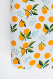 Clementine Kids Cot Sheet - Clementine - Dapper Mr Bear - www.dappermrbear.com - NZ