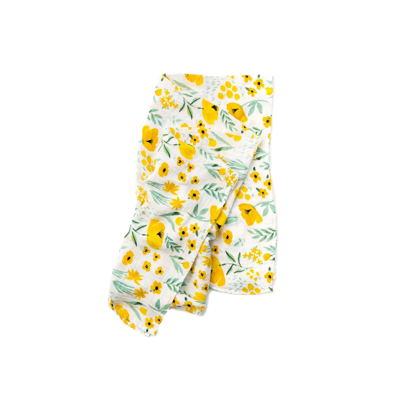 Clementine Kids - Swaddle - Buttercup Blossom - Dapper Mr Bear - www.dappermrbear.com - NZ