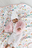 Clementine Kids - Reversible Quilt/Blanket - Unicorn Land - Dapper Mr Bear - www.dappermrbear.com