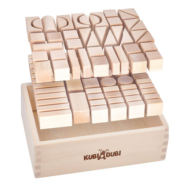 Kubi Dubi Wooden Building Blocks - Lighty - Dapper Mr Bear - www.dappermrbear.com - NZ