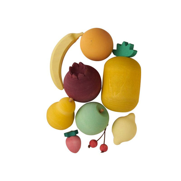 Raduga Grez - Wooden Play Food - Fruit Play Set - Dapper Mr Bear - www.dappermrbear.com - NZ