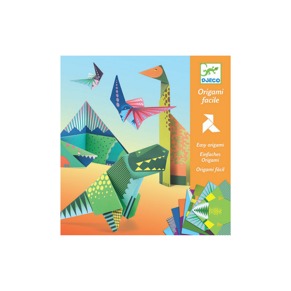 Djeco Origami Dinosaurs Pack - 24 pieces