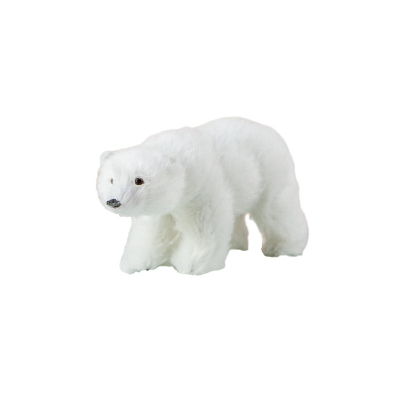 Down to the Woods - Dapper Mr Bear - www.dappermrbear.com - NZ - Polar Bear Miniature Bear
