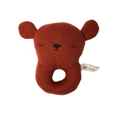 Eef Lillemor Baby Rattle - Bear - Dapper Mr Bear - www.dappermrbear.com - NZ