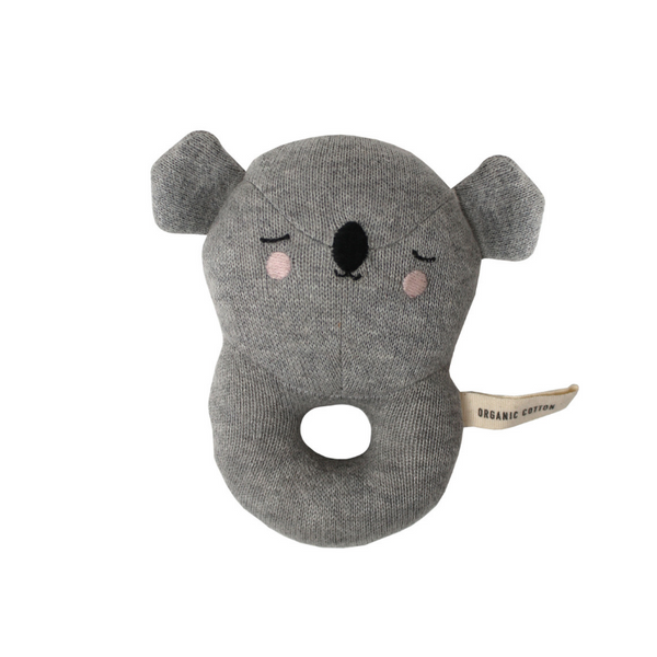 Eef Lillemor Baby Rattle - Koala - Dapper Mr Bear - www.dappermrbear.com - NZ