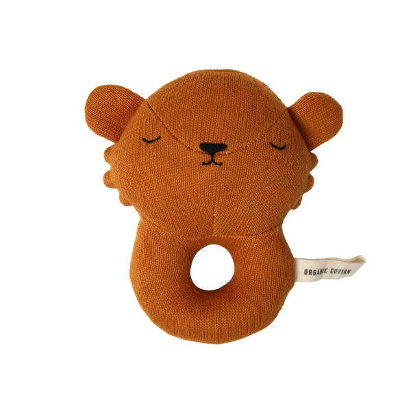 Eef Lillemor Baby Rattle - Lion - Dapper Mr Bear - www.dappermrbear.com - NZ