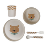 Eef Lillemor Bamboo Tableware - Lion - Dapper Mr Bear - www.dappermrbear.com - NZ