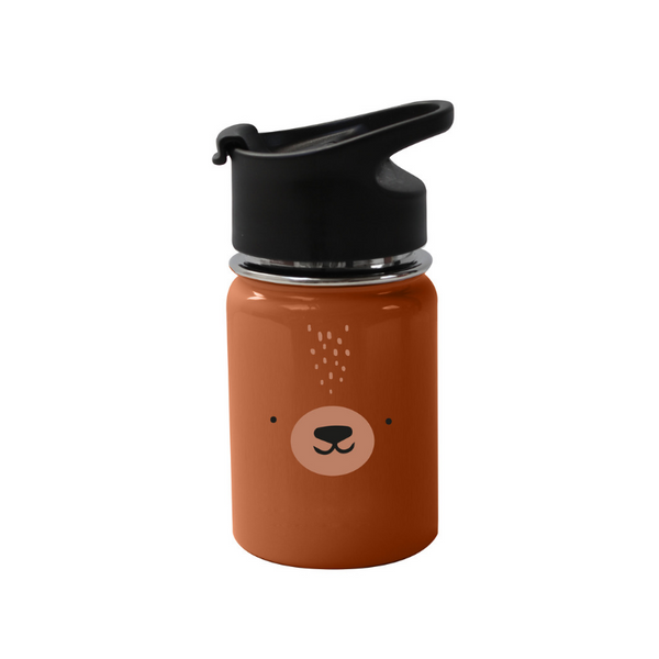 Eef Lillemor Stainless Steel Bottle - Bear - Dapper Mr Bear - www.dappermrbear.com - NZ
