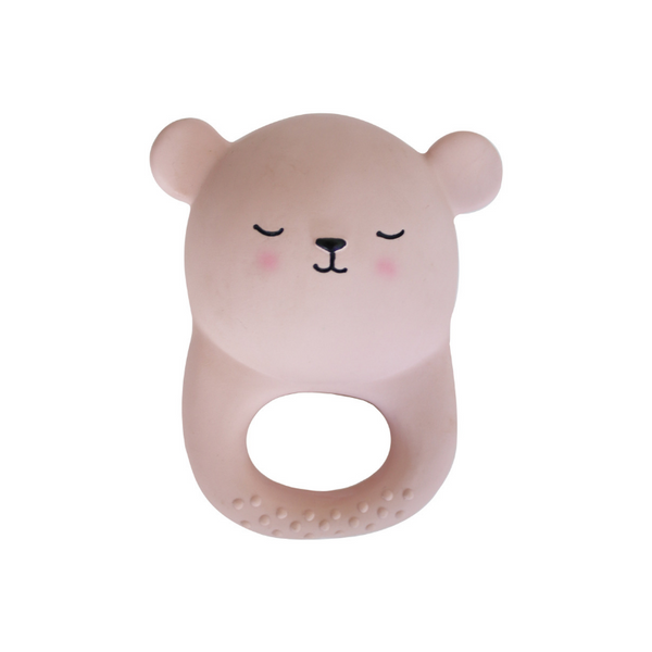 Eef Lillemor Teething Toy - Bear - Dapper Mr Bear - www.dappermrbear.com - NZ