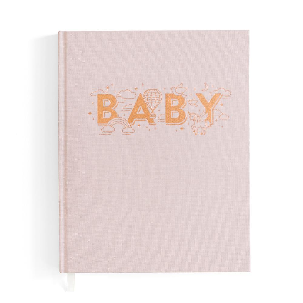 Fox and Fallow Boys Baby Book - Blush/Natural - Dapper Mr Bear - www.dappermrbear.com - NZ