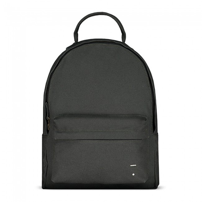 Nearly Black Canvas Backpack - Large - Dapper Mr Bear - www.dappermrbear.com - NZ