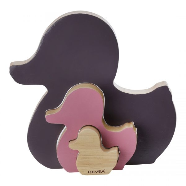 Kawan Rubberwood Shape Sorter - Amethyst - Dapper Mr Bear - www.dappermrbear.com - Nz