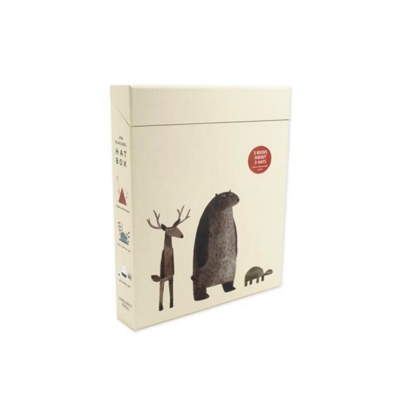 Jon Klassen's Hat Box Set - Dapper Mr Bear - www.dappermrbear.com - NZ