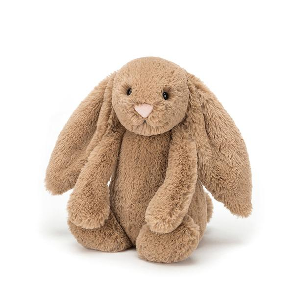 Jellycat Bashful Bunny Medium - Biscuit - Dapper Mr Bear - www.dappermrbear.com - NZ