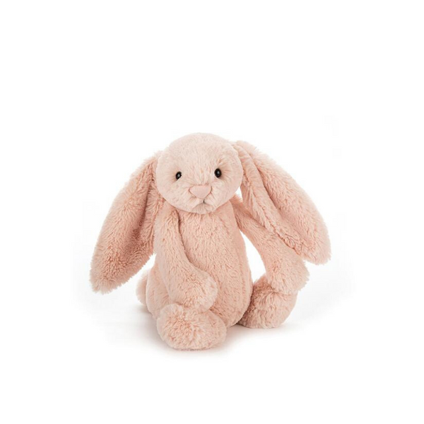 Jellycat Bashful Bunny Small - Blush - Dapper Mr Bear - www.dappermrbear.com - NZ