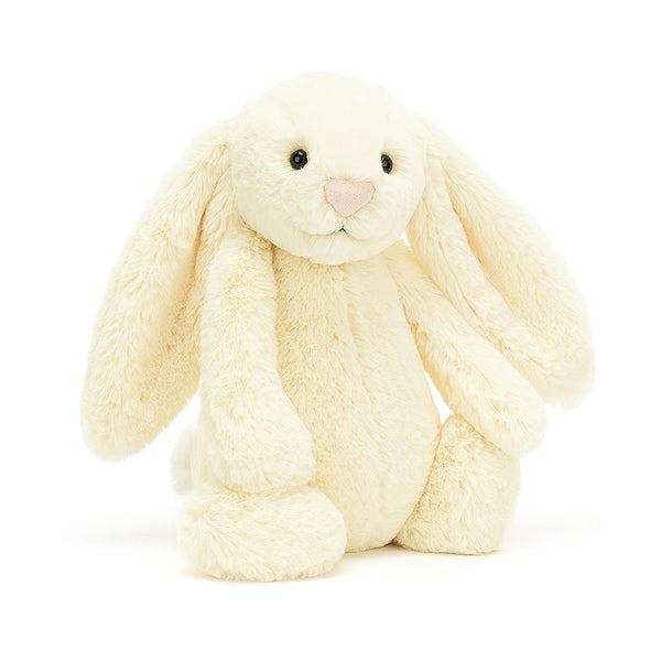Jellycat Bashful Bunny Medium - Buttermilk - Dapper Mr Bear - www.dappermrbear.com - NZ