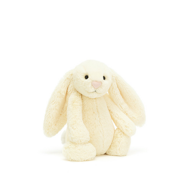 Jellycat Bashful Bunny Small - Buttermilk - Dapper Mr Bear - www.dappermrbear.com - NZ