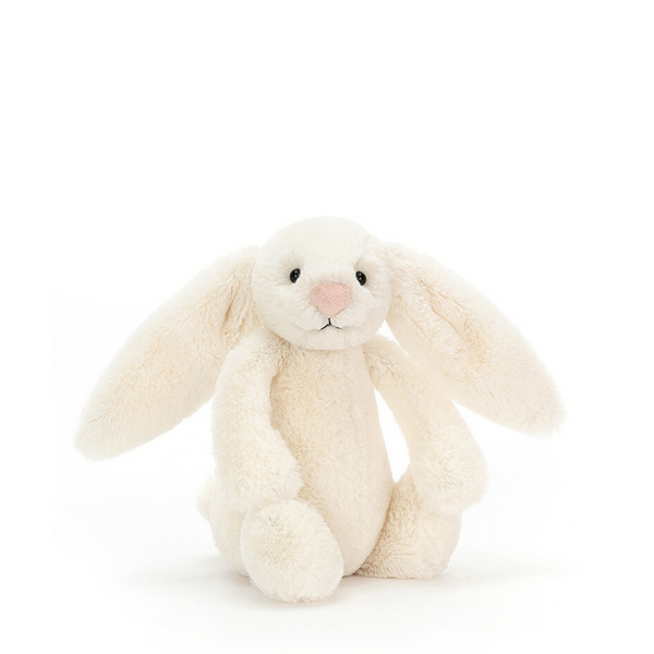 Jellycat Bashful Bunny Small - Cream - Dapper Mr Bear - www.dappermrbear.com - NZ