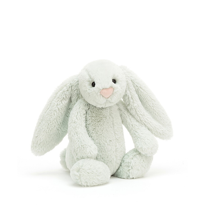 Jellycat Bashful Bunny Small - Seaspray - Dapper Mr Bear - www.dappermrbear.com - NZ