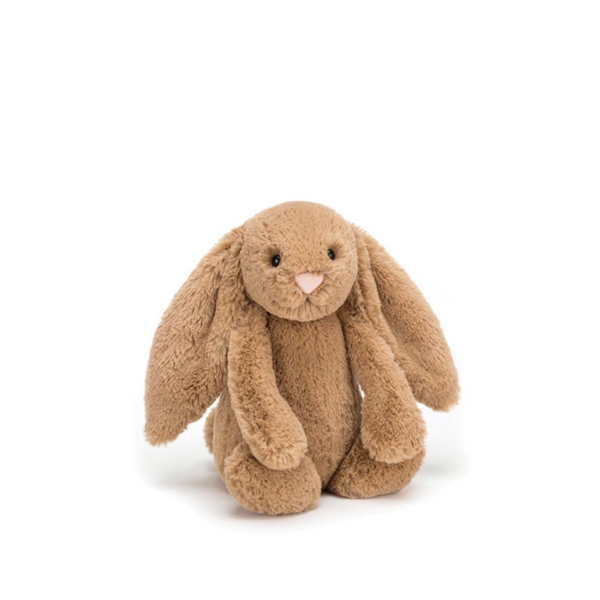 Jellycat Bashful Bunny Small - Biscuit - Dapper Mr Bear - www.dappermrbear.com - NZ