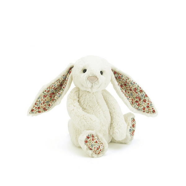 Jellycat Blossom Bashful Bunny Small - Cream - Dapper Mr Bear - www.dappermrbear.com - NZ