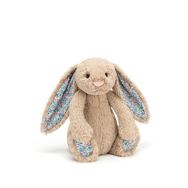 Jellycat Bashful Bunny Small - Blossom Beige - Dapper Mr Bear - www.dappermrbear.com - NZ