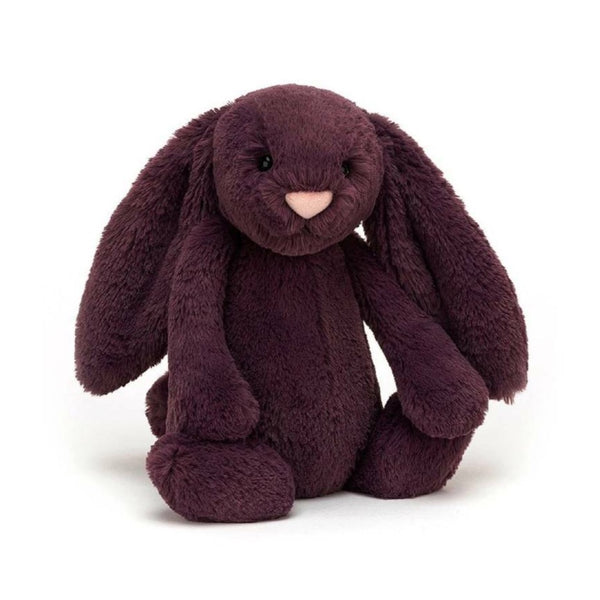 Jellycat Bashful Bunny Medium - Plum - Dapper Mr Bear - www.dappermrbear.com - NZ