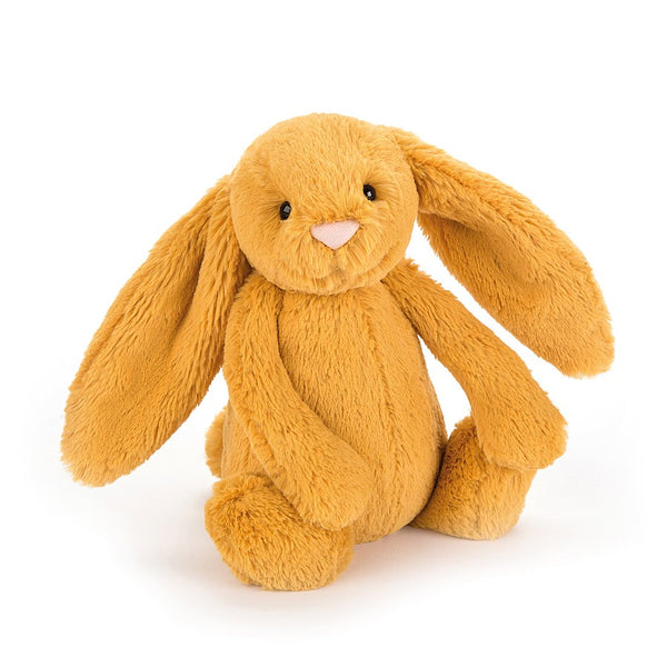 Jellycat Bashful Bunny Medium - Saffron - Dapper Mr Bear - www.dappermrbear.com - NZ