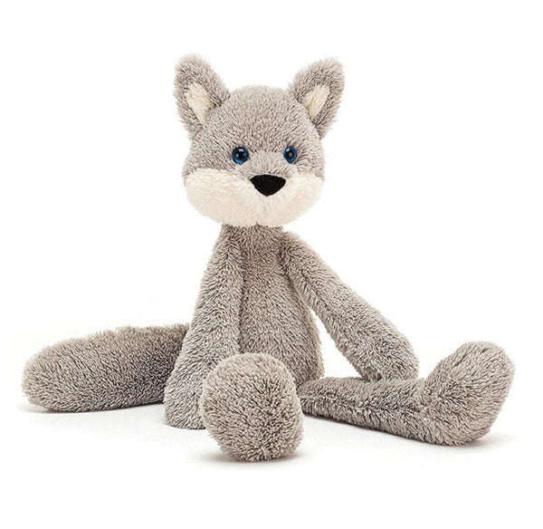 Jellycat Wyatt Wolf - Dapper Mr Bear - www.dappermrbear.com - NZ