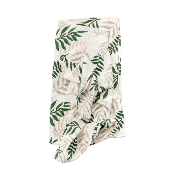 Swaddle - Jungle Fern - Clementine Kids - Dapper Mr Bear - www.dappermrbear.com - NZ