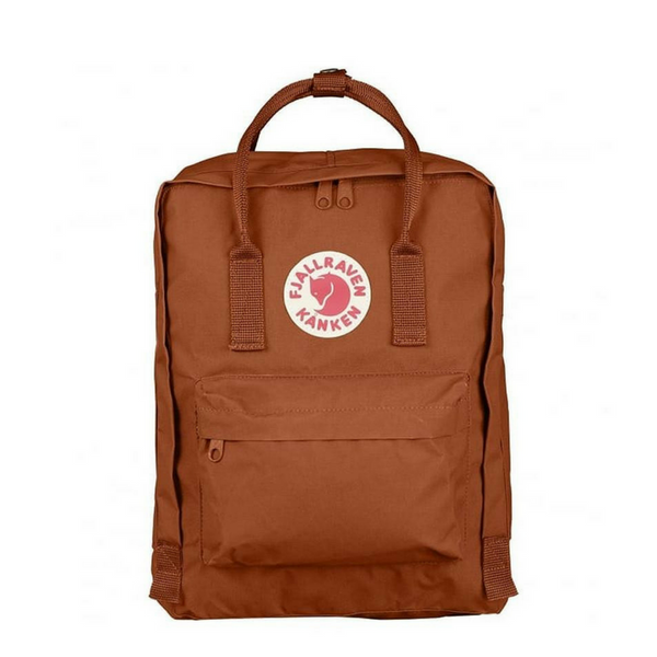 Kanken Classic Backpack - Brick, Dapper Mr Bear - www.dappermrbear.com