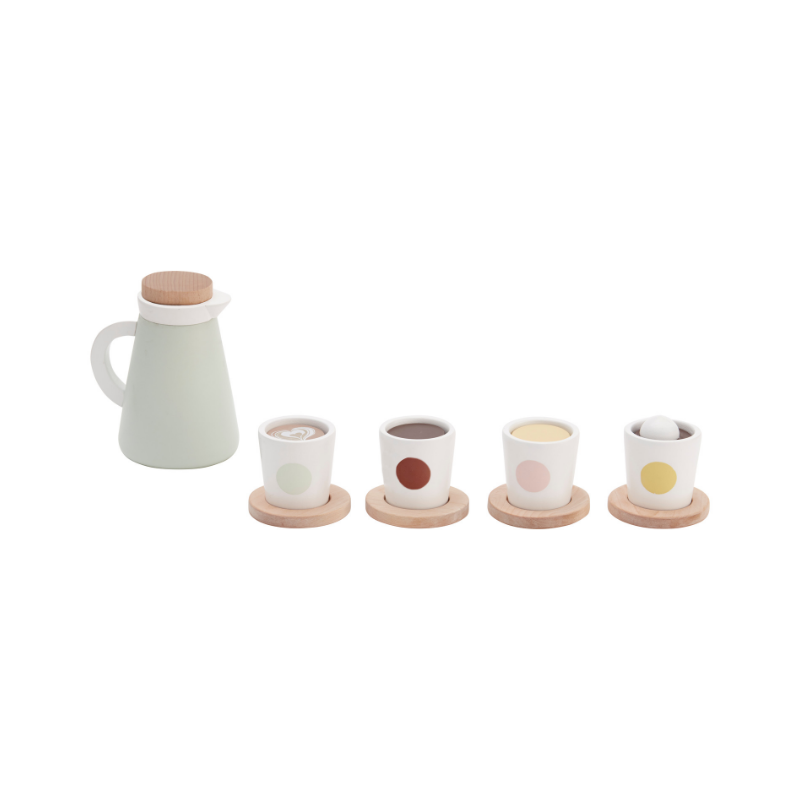 Kids Concept Hot Drink Set - Dapper Mr Bear - www.dappermrbear.com - Wooden Toys - NZ